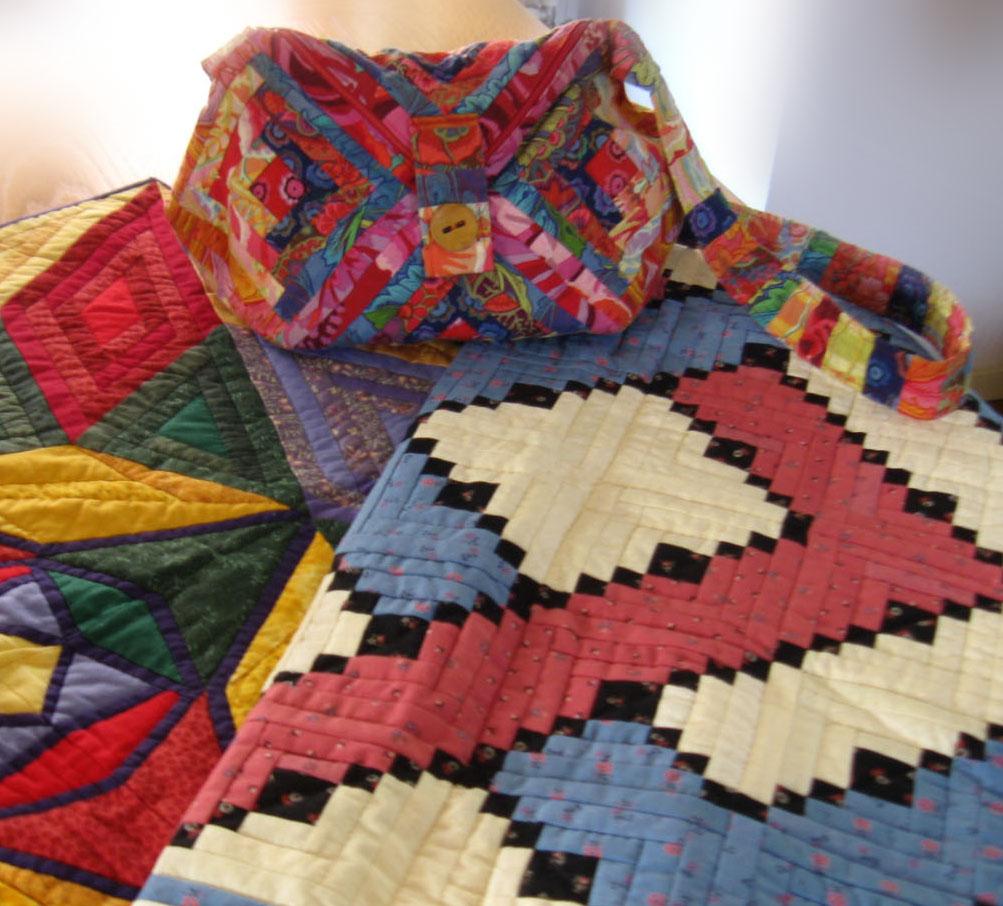 logincabin als tas gemaakt door Appie Haan